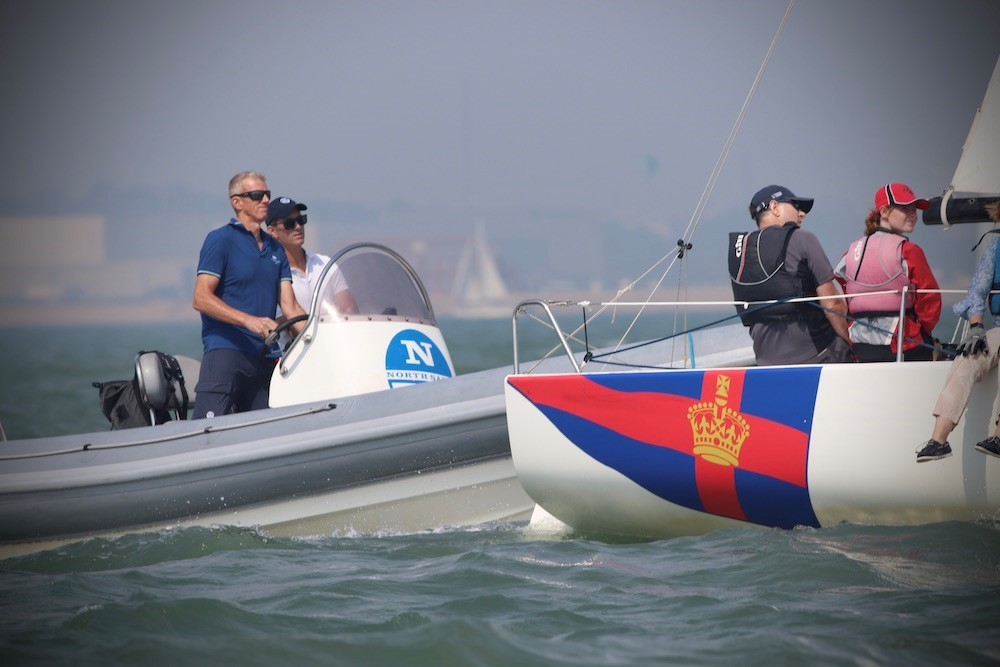 North Sails Regatta Coaching with Neil Mackley and Graeme Willcox.