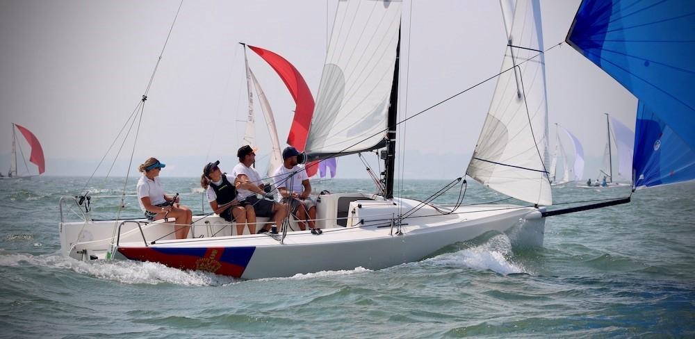 Royal Southern YC Charity Cup Regatta - Annabel Vose's J/70 Boysterous  (Louay Habib)