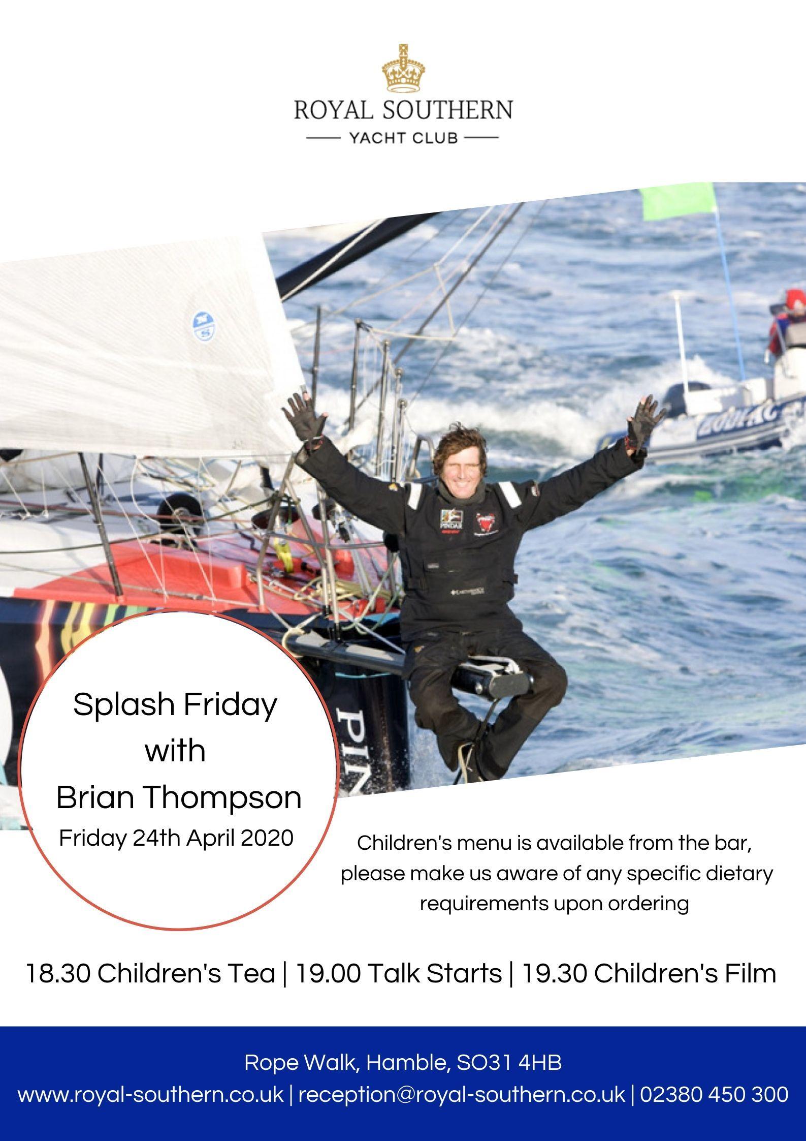 24 04 Brian Thompson Poster
