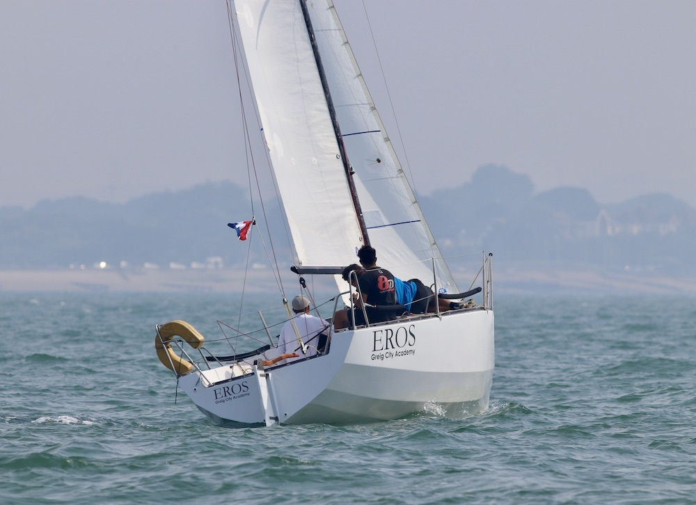 Azat Ulutas' E-Boat Eros (Greig City Academy)