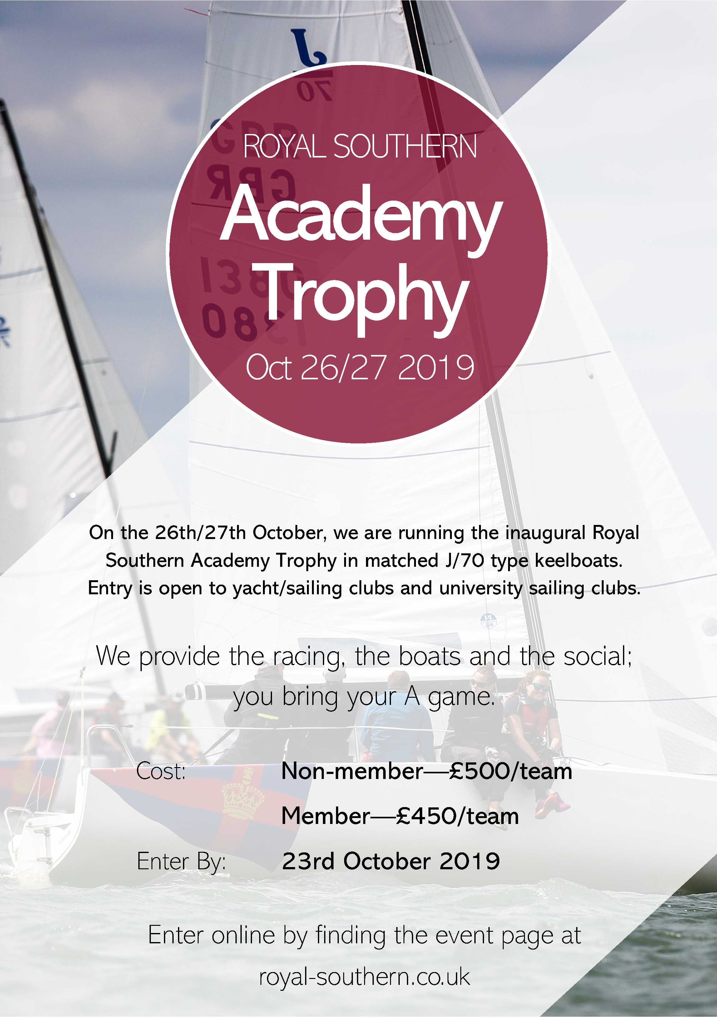 Academy Trophy Poster 1