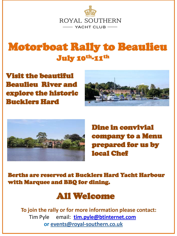 Beaulieu Rally 10 11 July Draft A