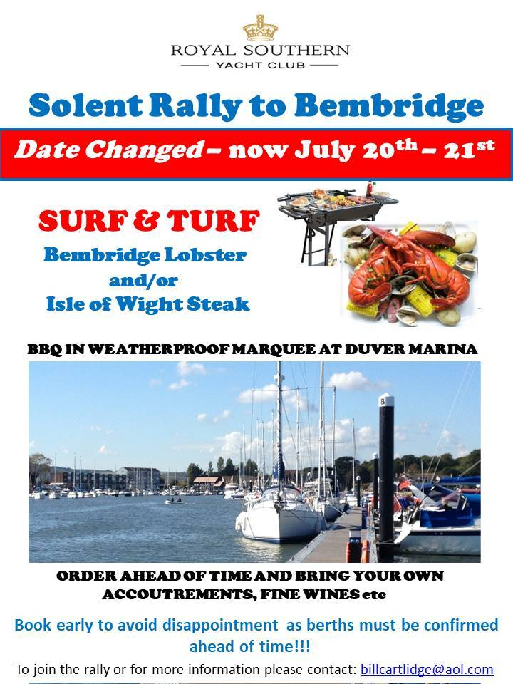 Bembridge Rally 20 21 July Draft C