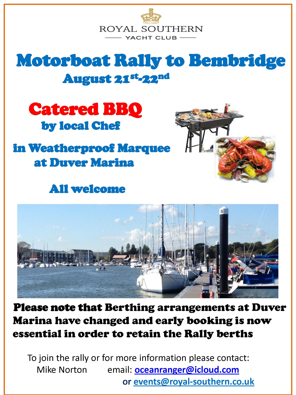 Bembridge Rally 21 22 August Draft B