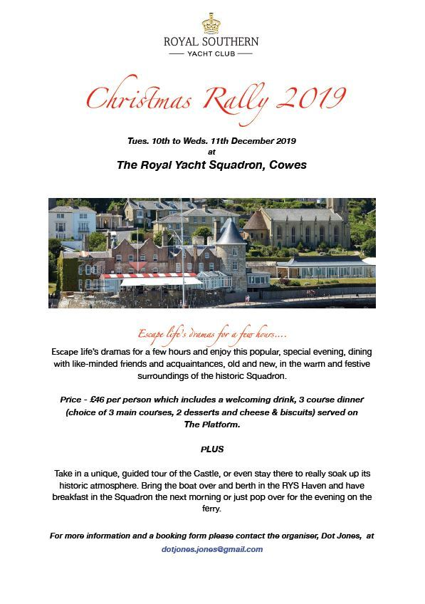 Christmas Rally To Cowes Website