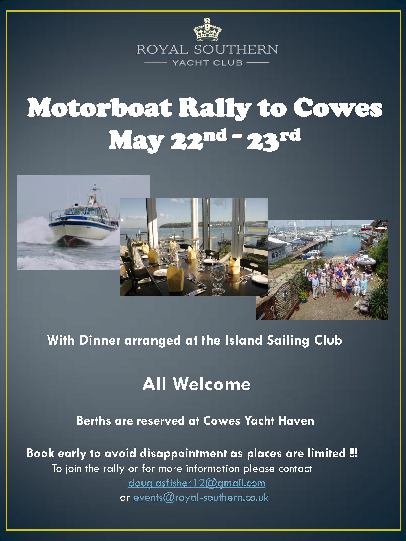 Cowes Rally 22 23 May Draft B