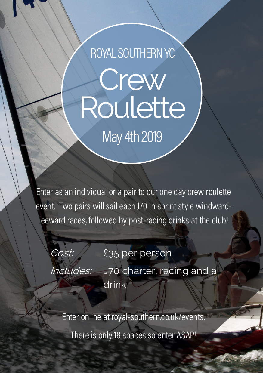 Crew Roulette Poster 2