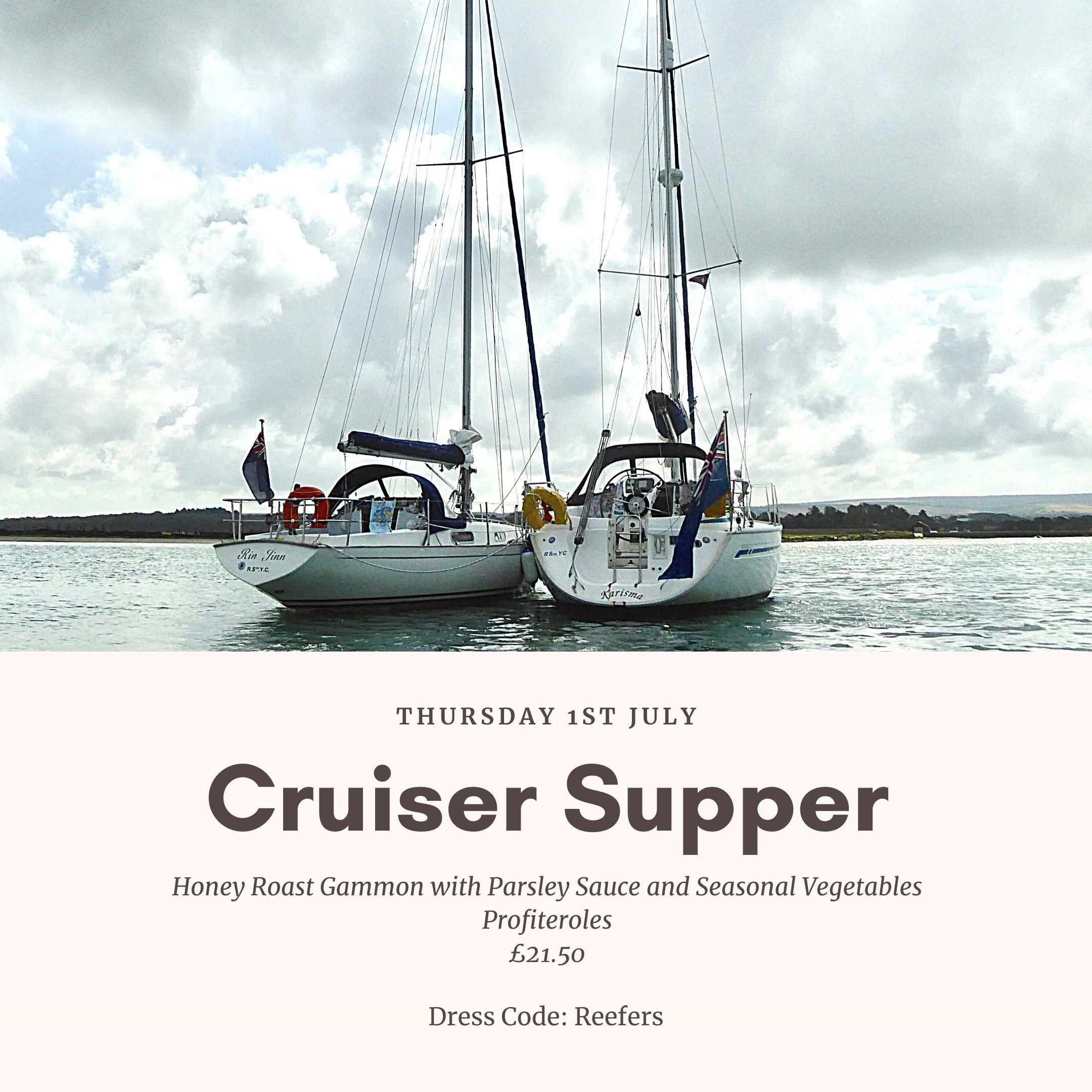 Cruiser Supper Poster