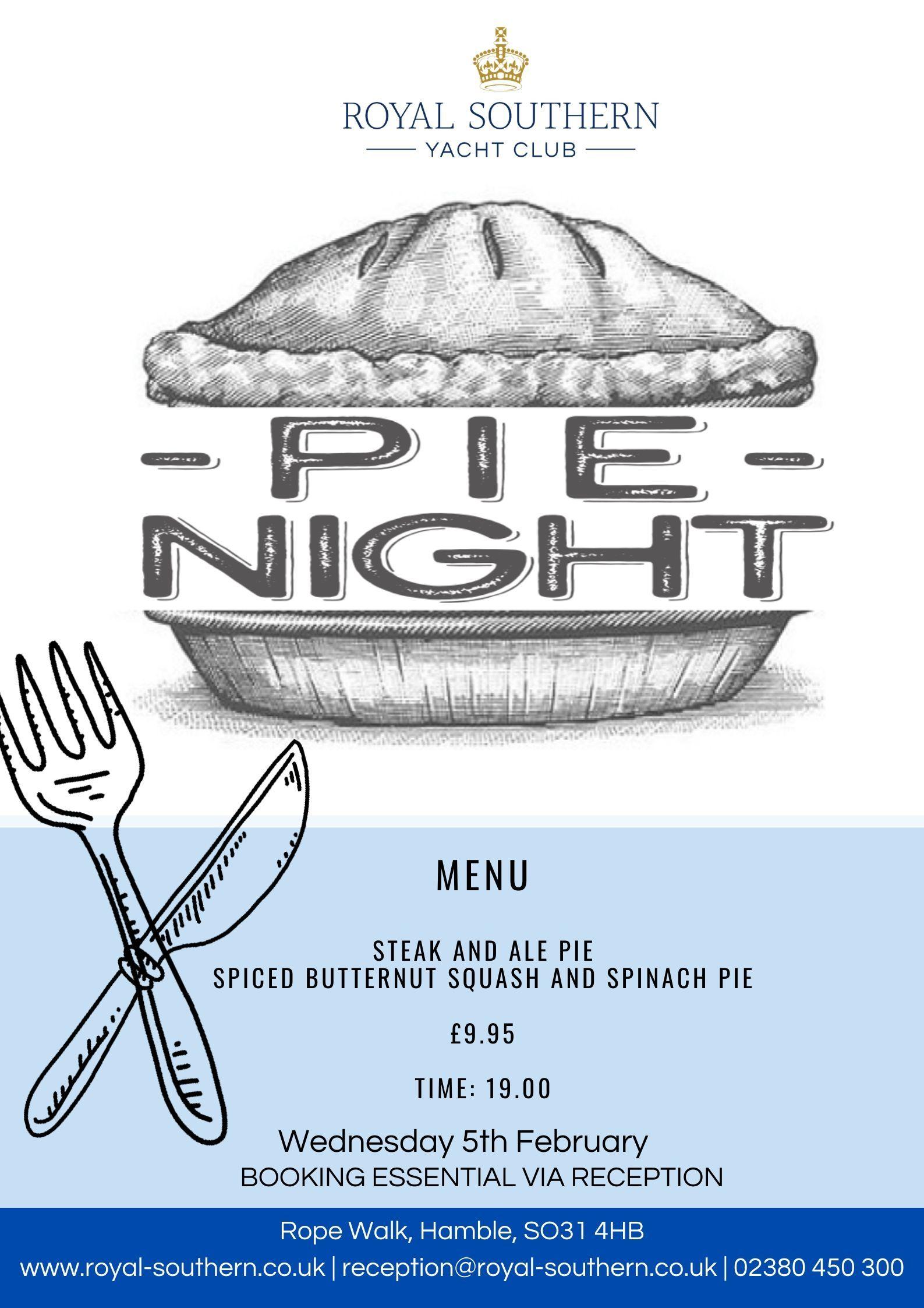 Pie Night Poster V2  Jpeg