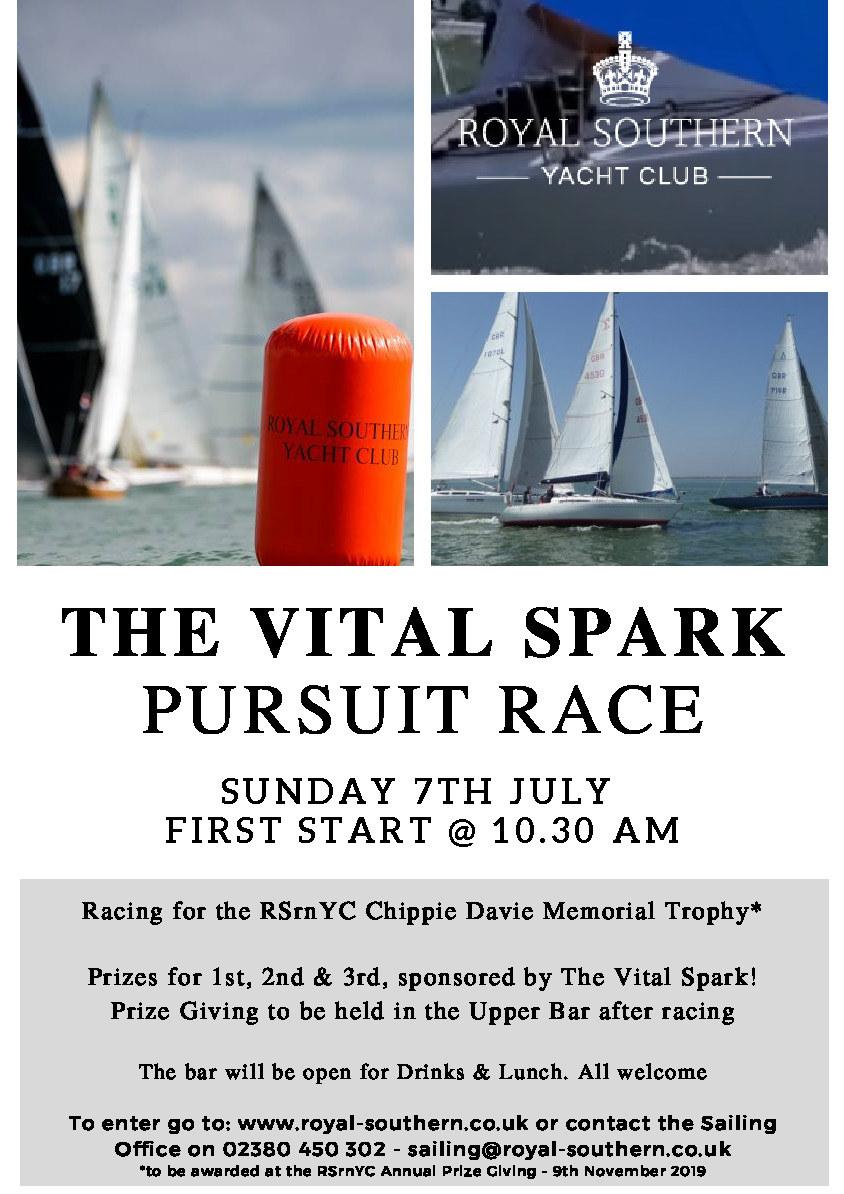 Pursuit Race Poster